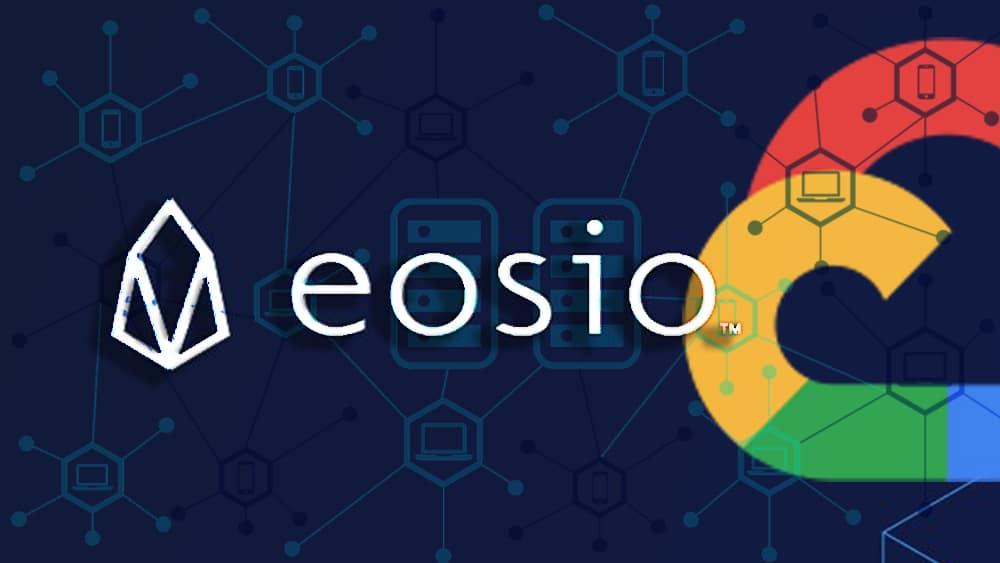 blockchain EOS nodos validadores Google Cloud