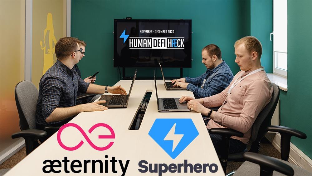 hackaton desarrolladores defi Aeternity Superhero