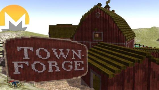 Crea mundos y mina criptomonedas con este juego de PC inspirado en Minecraft