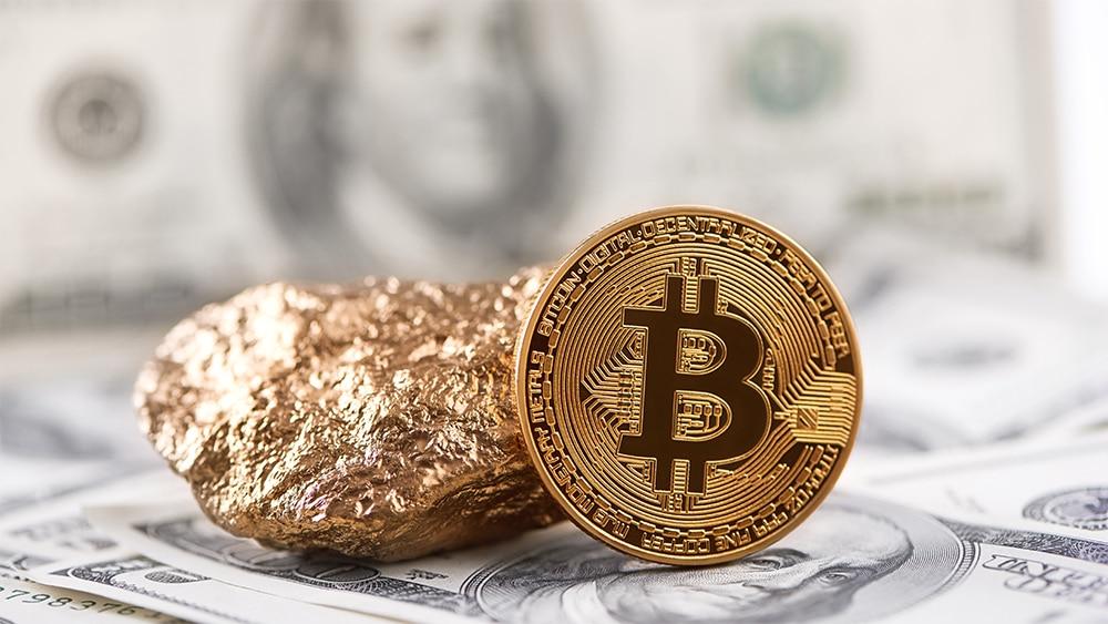 valor mercado oro criptomonedas bitcoin dólares