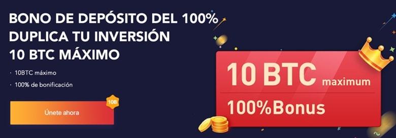 Bono de depósito del 100%