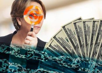 cadena bloques privacidad fondo