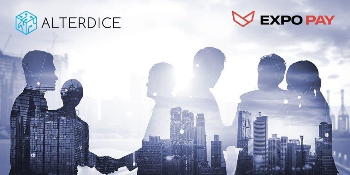 Asociacion de Alterdice Exchange con Expo Pay