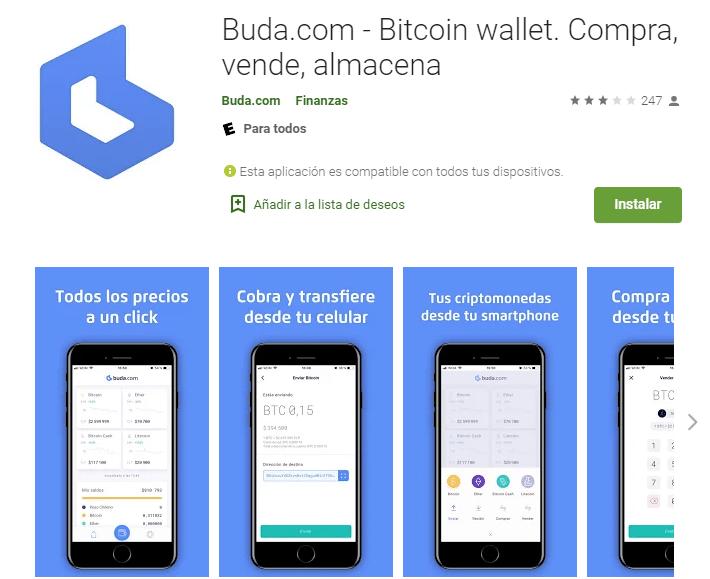 app buda.com intercambio criptomonedas