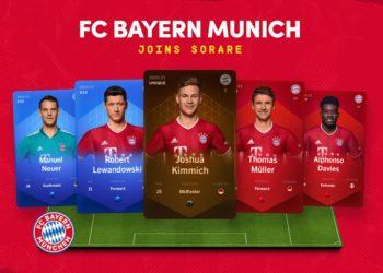 bayern munich futbol alemania coleccionables ethereum