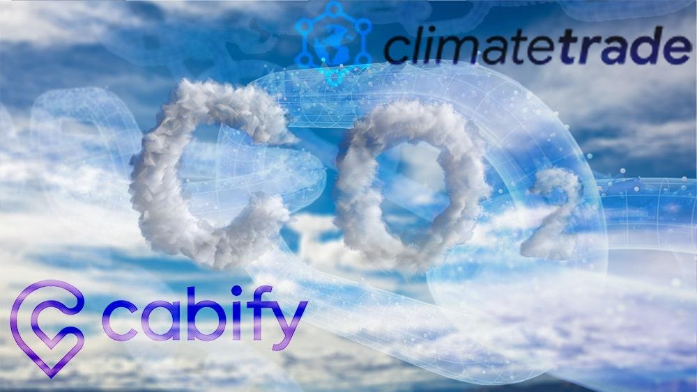 emisiones Co2 españa blockchain cabify climatetrade