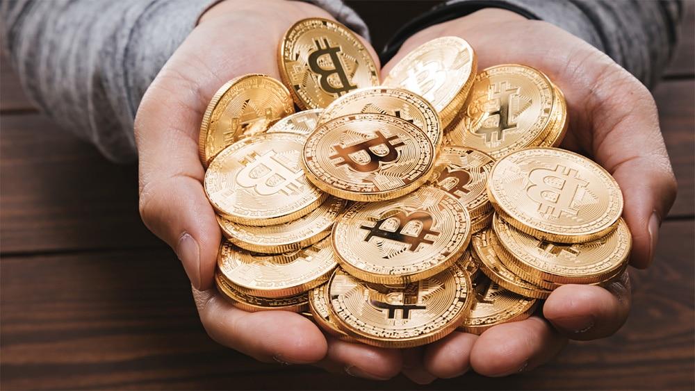 distribución valor criptomoneda bitcoin