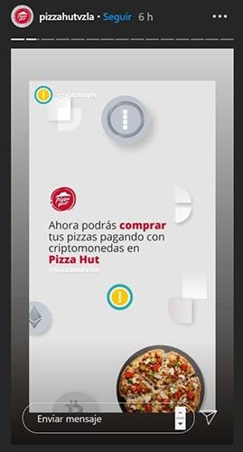pizza hut anuncio