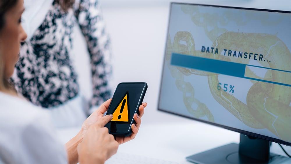 registro datos personales blockchain