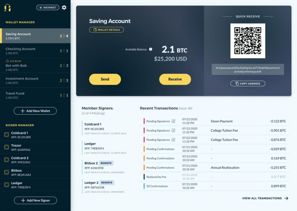 carteras frias soporte blockchain