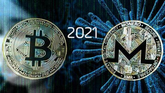 Crisis económica por coronavirus aumentaría delitos vinculados a bitcoin y monero en 2021