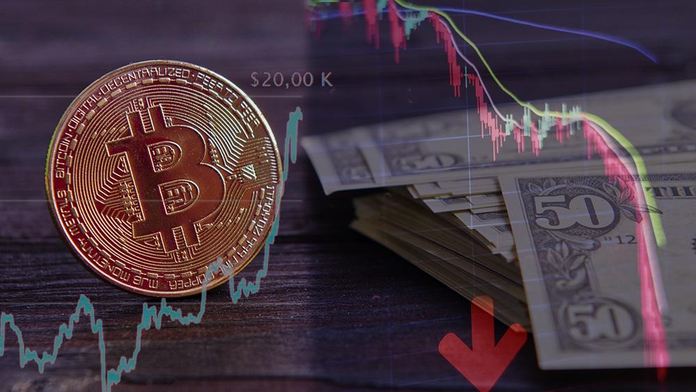 billetes moneda fiat mercado