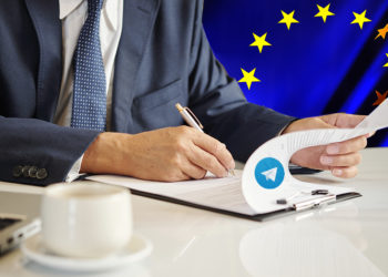 Unión Europea falsificación mensajes