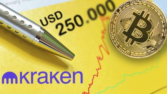 El precio de bitcoin en 2021 llegaría a los 250 mil dólares, según sondeo de Kraken