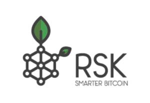 Logo RSK cadena lateral de bitcoin