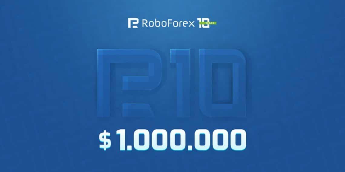Decimo aniversario de RoboForex