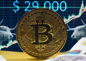 Aumento precio bitcoin 2020. Composición por CriptoNoticias. Ewan Kennedy / unsplash.com; mlproject / pixabay.com; Hans Eiskonen / unsplash.com.