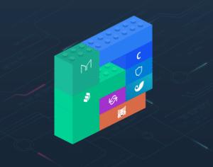 Imagen de lego de dinero basado en Defi