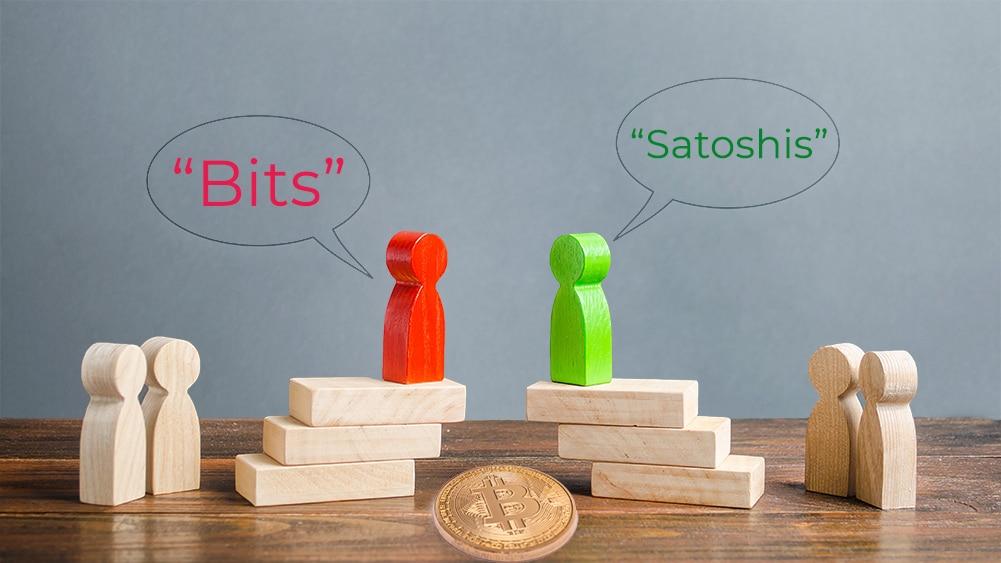 discusión satoshis criptomoneda bitcoin