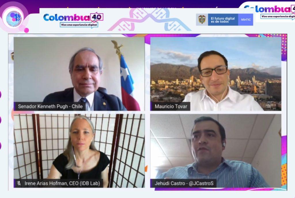 Colombia 4.0 experiencia digital debate talento