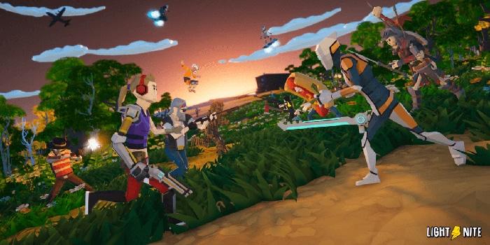 lightnite battle royale