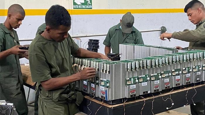 BTC criptomonedas gobierno venezolano