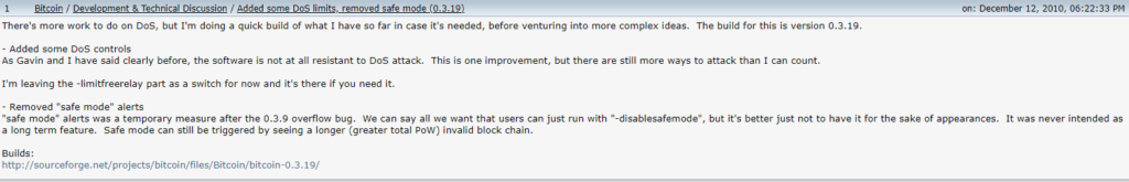 bitcointalk profile satoshi nakamoto