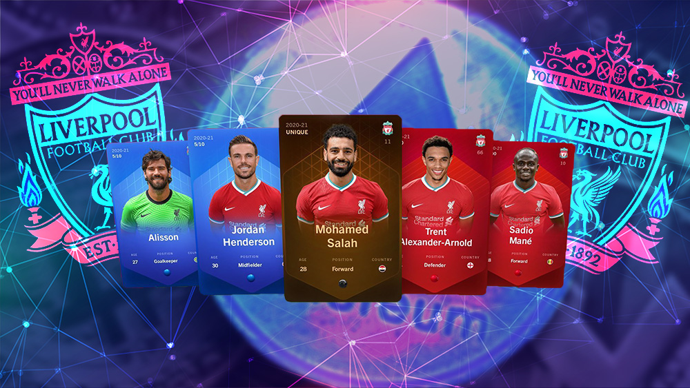 tokens coleccionables football liverpool sorare Ethereum