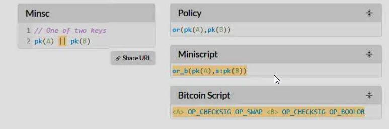 comandos lenguaje minsc codigo bitcoin