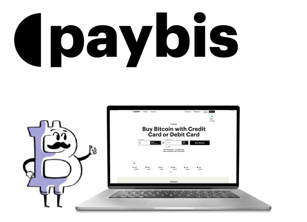 Paybis logo y sitio
