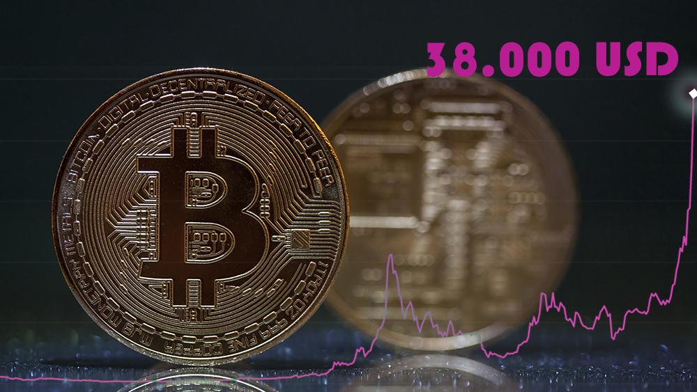 38000 dolares BTC criptomonedas