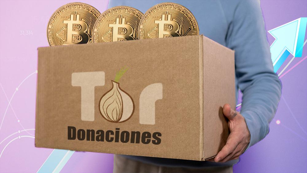 tor project donaciones criptomonedas comunidad