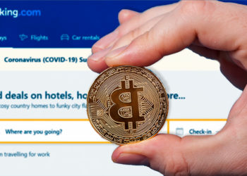 crypto.com booking.com compra viajes bitcoin