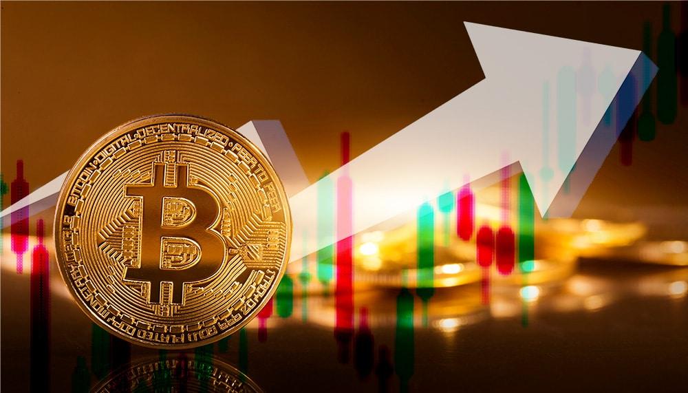aumento precio bitcoin ganancias record
