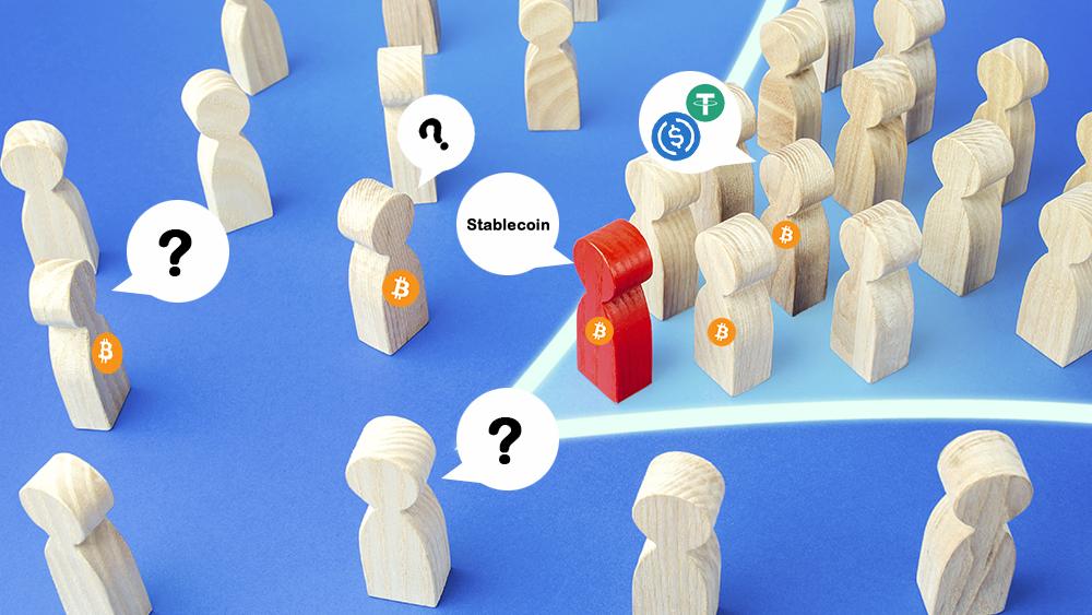 Bitcoin monedas estables USD coin