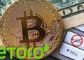 ordenes compra venta bitcoin eToro fines semana