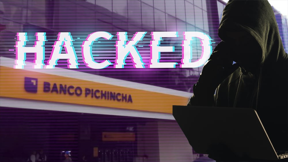 hackleo banco pichincha ecuador recompensa bitcoin