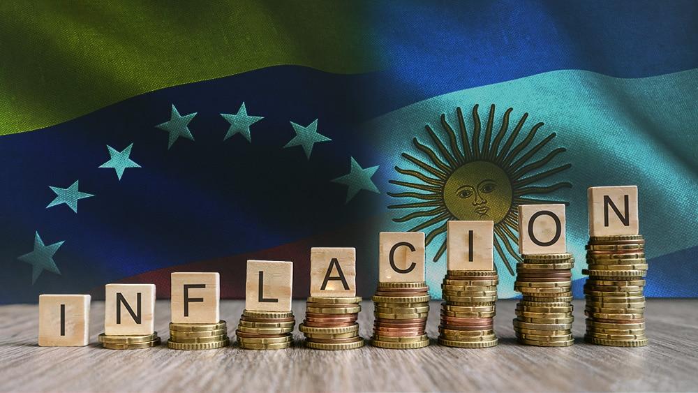 aumento inflación venezuela argentina uso criptomonedas bitcoin