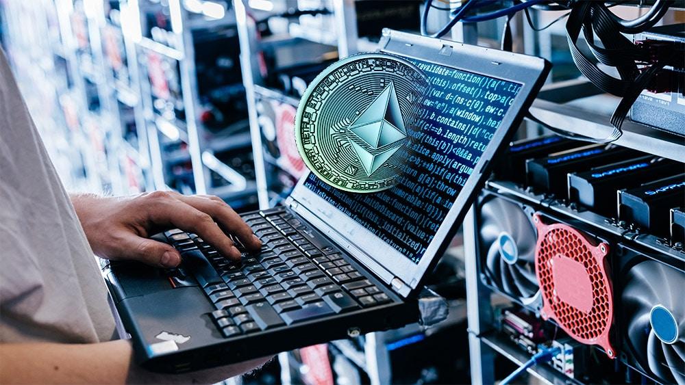 minería criptomonedas ethereum poder procesamiento