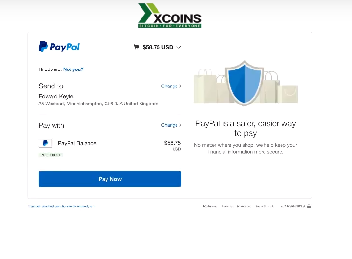sistema pagos envio dinero