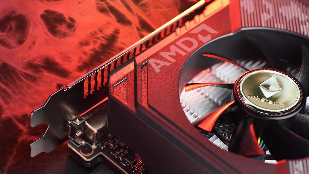 mineros criptomonedas ethereum tarjetas video gpu AMD