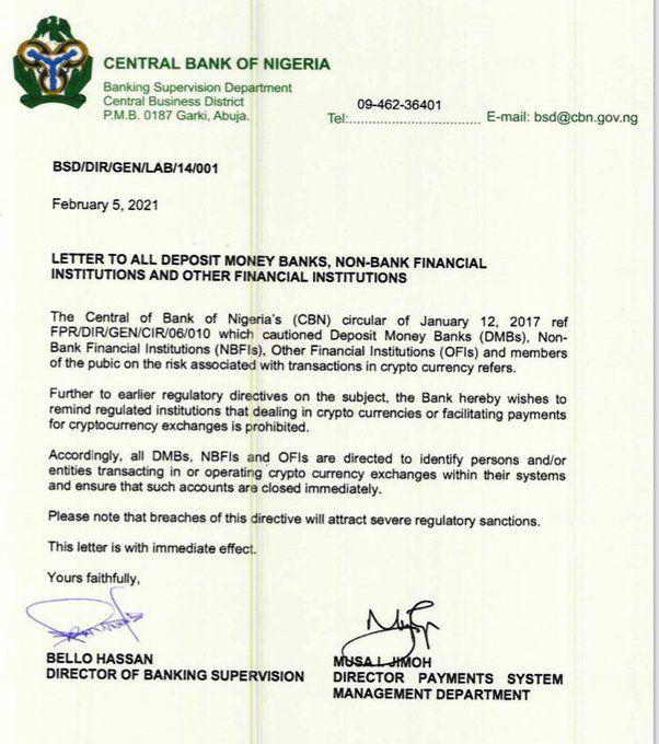 criptomonedas prohibo Africa gobierno