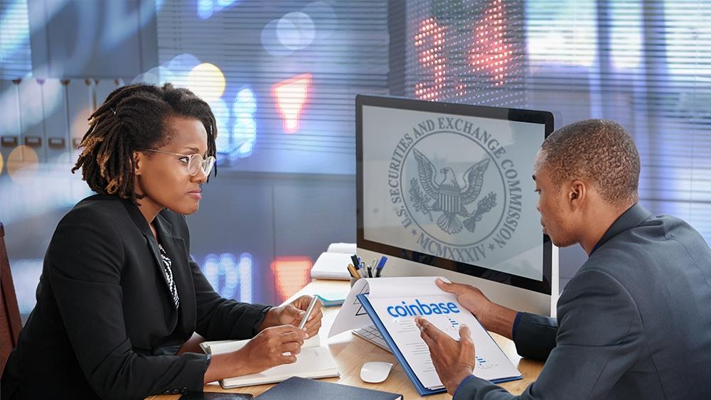 registro acciones coinbase bolsa valores Estados Unidos