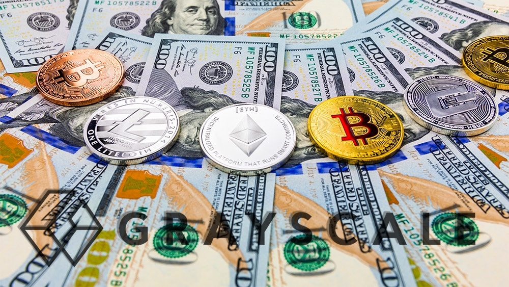 inversión criptomonedas mercado finanzas descentralizadas grayscale