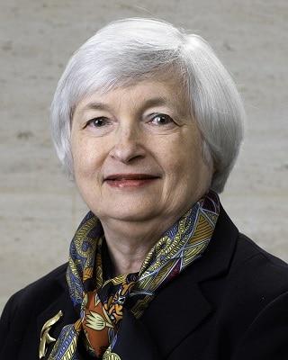 Janet Yellen Estados Unidos