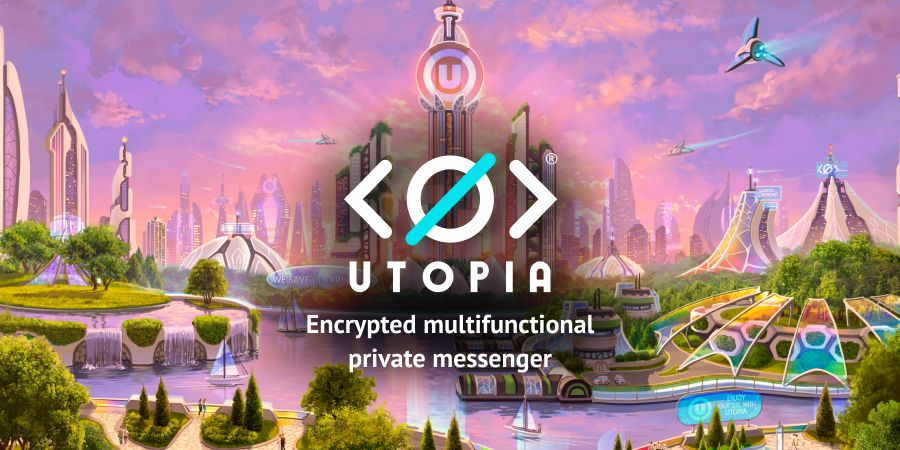 Mensajero privado encriptado de Utopia