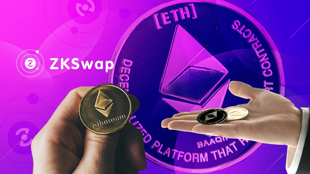 intercambio tokens ethereum zkswap