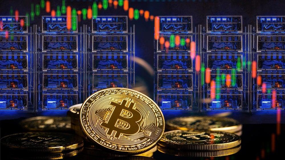 caida precio bitcoin minería criptomonedas