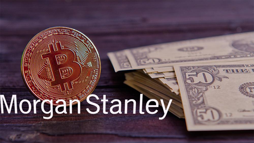 inversión instituciones criptomonedas bitcoin Morgan Stanley
