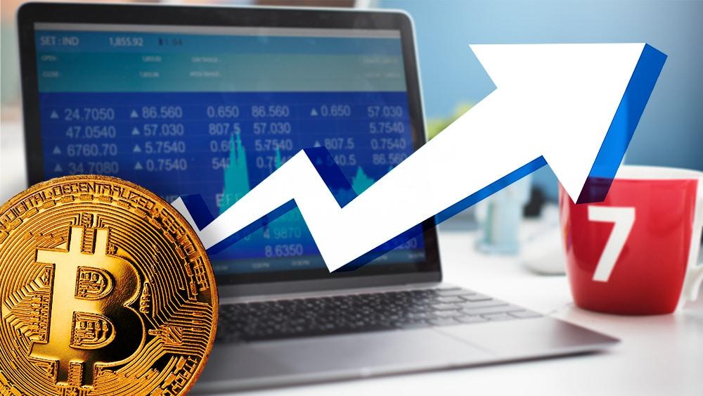 aumento comercio futuros criptomoneda bitcon exchanges